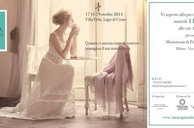 Immagina. Il Matrimonio - preview all'Atelier Peter Langner