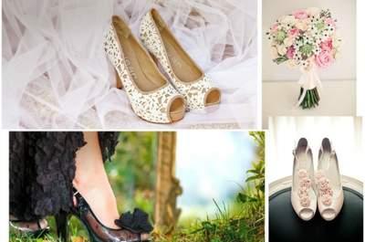 Tendências sapatos de noiva 2013? Calce português!