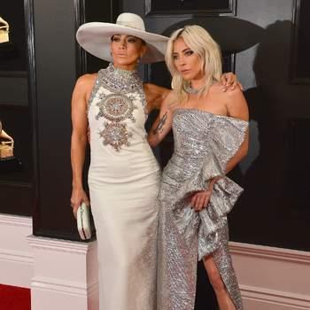 Jennifer Lopez y Lady Gaga. Créditos: Cordon Press