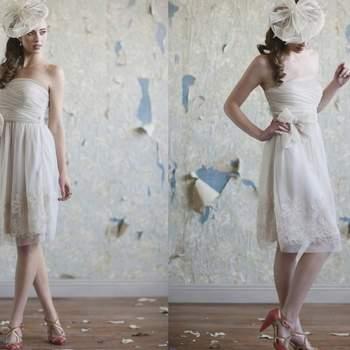 Vestido Addison de Ruche Bridal