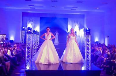 Jeden z największych salonów sukien ślubnych w Polsce zorganizował pokaz! 130 pięknych prezentacji.