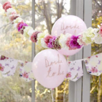 Ballons Bride To Be Roses 6 Pièces - The Wedding Shop !