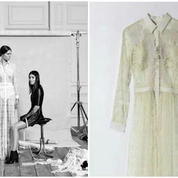 Arrisque com um vestido pouco convencional, como este da estilista Marcela Mansergas. Destaque para o decote camisa, ao estiio francês! Foto: Rubén Vega