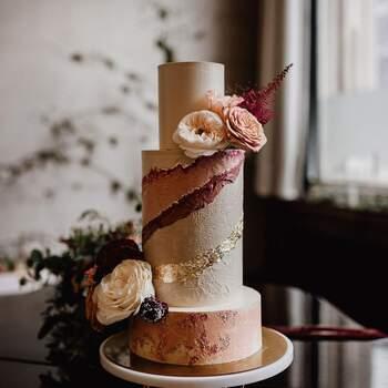 Foto: Misshavishamscakes - Pastel en tonos tierra