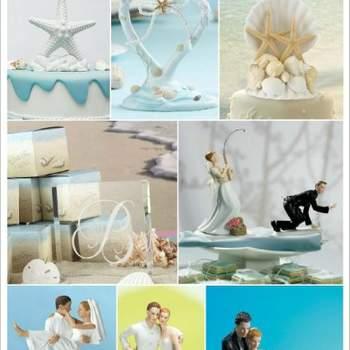 Figurines pour gâteaux de mariage - Crédit photo: Décorations de Mariage