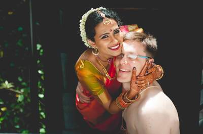 Indo-Lithuanian Destination Real Wedding of Smriti and Rytis: The one with a lot of romance