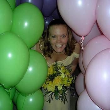 Ballons à accorder avec la couleur de votre mariage. Photos amusantes garanties ! - Photo : notmargaret