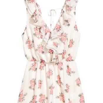 Vestido em crepe da H&M (20,99€)