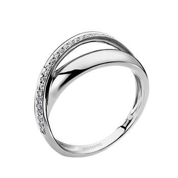 Anel com brilhantes. Credits: Elements Contemporary Jewellery