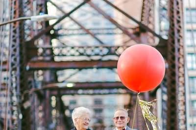 Un 61º anniversario di matrimonio ispirato al film d'animazione 'UP'... semplicemente irresistibile!