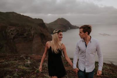 Wiosenna sesja zakochanych na Maderze. Nie omiń tych wyjątkowych kadrów!