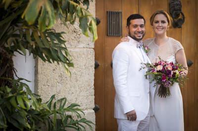 Loretta y Francisco: ¡una boda con el sabor del Caribe!