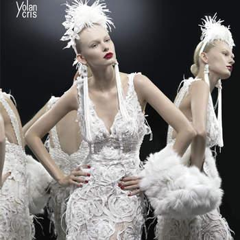 Robe les Trois Grâces par Yolan Cris. Photo: blog.webboda.es