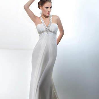 Suknia ślubna, która nie wymaga biżuterii