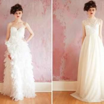 Inspire-se na linda e romântica coleção de vestidos de noiva que a Sarah Seven preparou para a Primavera 2013.