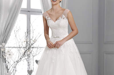 Agnes 2015: najnowsza kolekcja sukien ślubnych - Crystal Collection!