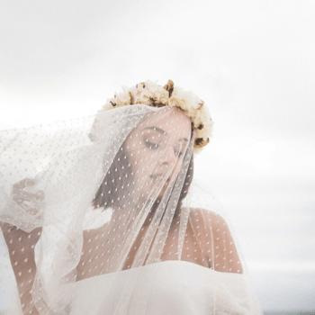 Photo : Voile de mariée - Les Couronnes de Victoire