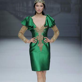 Photo : Matilde Cano - Credits: Barcelona Bridal Fashion Week