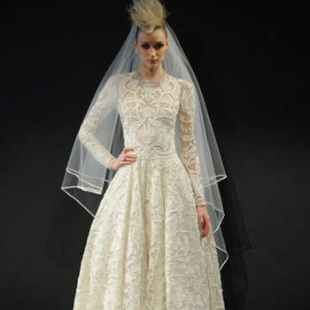 Neem Khan. Credits_ Barcelona Bridal Fashion Week