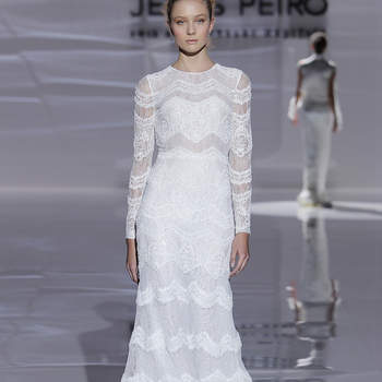 Jesús Peiró. Credits_ Barcelona Bridal Fashion Week