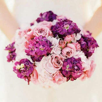Espectaculares ramos de noiva em cor-de-rosa. Escolha o seu favorito!