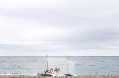 Un mariage à la mer? De jolies inspirations pour votre grand jour!