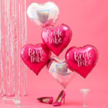 Ballons Bride Tribe Cœur 5 Pièces - The Wedding Shop !