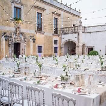 Masseria Palesi: L'antica corte barocca di questa masseria si presta a diventare lo scenario perfetto per un matrimonio da sogno.