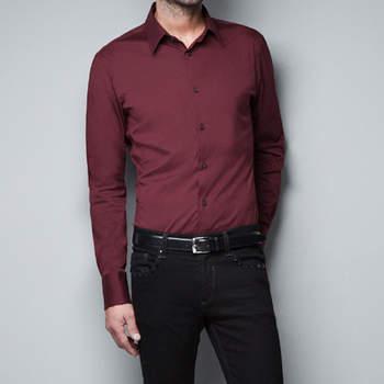 Las camisas elásticas son otro de los imprescindibles de este otoño invierno. Foto: Zara