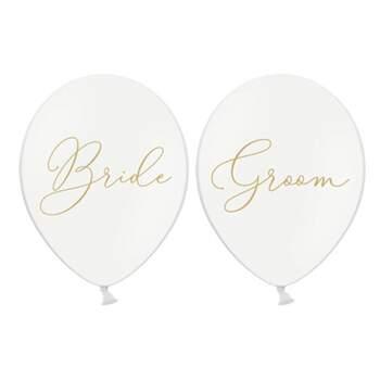 Ballons Bride Et Groom 6 Pièces - The Wedding Shop !