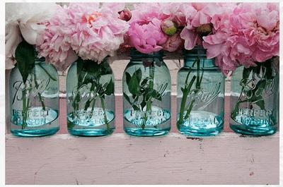 Vases en cristal comme décoration de mariage : la nouvelle tendance 2014