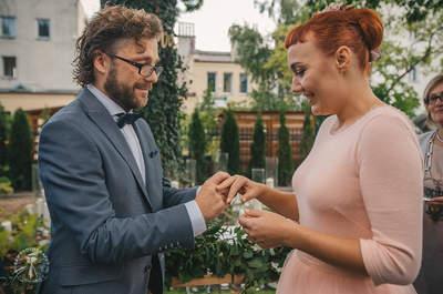 Piękny sopocki hotel, perfekcyjna organizacja oraz wspaniała Para- Iza i Mateusz. Zobacz ich cudny ślub!