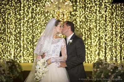 Casamento clássico de Ana Carolina e Rodrigo: um show de luz e beleza em São Paulo!