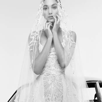 Rina with veil, Zuhair Murad.