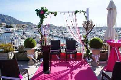 Mariage au bord de l'eau : féerie garantie