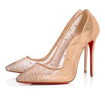Follies Strass Rete Suede Lame. Credits: Christian Louboutin