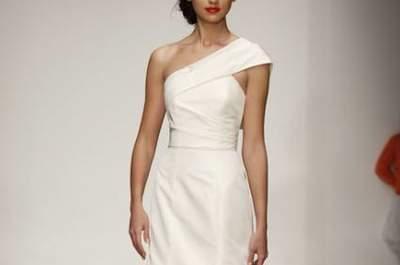 Elegantes e belos vestidos de noiva Amsale 2013
