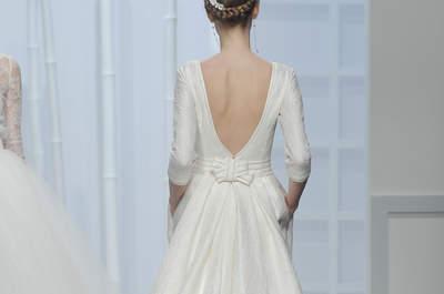 Свадебные платья с открытой спиной 2016: чувственность и элегантность