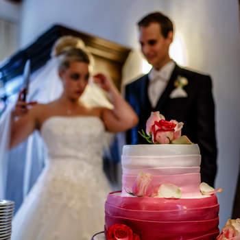 Foto: Axel Breuer Hochzeitsfotografie / Torte: Hof Grothues-Potthoff