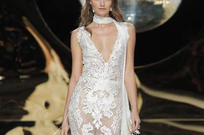 Vestidos de novia para mujeres con mucho pecho 2017: Diseños que te harán lucir fantástica