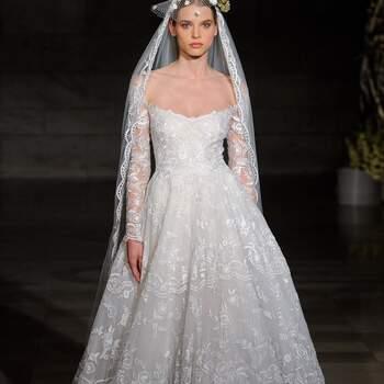 Reem Acra. Credits: Barcelona Bridal Fashion Week