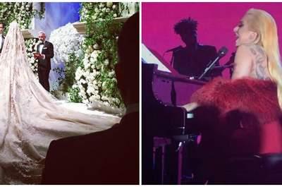Impressive 10 million dollar wedding, with a performance by Lady Gaga included!
