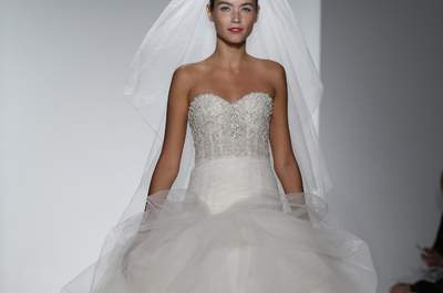 Kenneth Pool Bridal Collection Spring/Summer 2015 at the New York Bridal Week