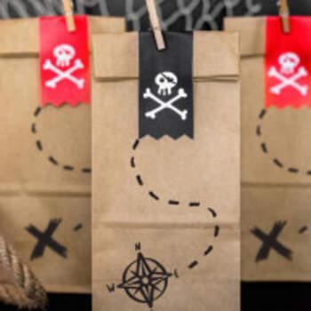 Sachets Pirates 6 Pièces - The Wedding Shop !