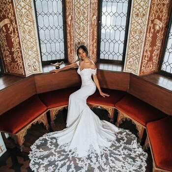 Jasmine by Allure Bridals | Credits: Disney