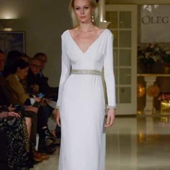 Créditos: Oleg Cassini   New York Bridal Week
