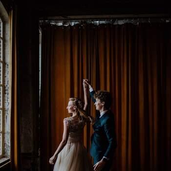 Styled Wedding Shoot: Laura's en Gideon's Industrial I do   Foto: Britt Laske Fotografie
