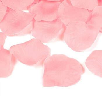 Pétalos de tela rosa 100 unidades- Compra en The Wedding Shop