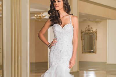 Descubre el glamour de los nuevos vestidos de novia Justin Alexander otoño-invierno 2016-2017