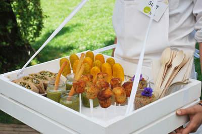 Scopri il finger food per il tuo menù di nozze!